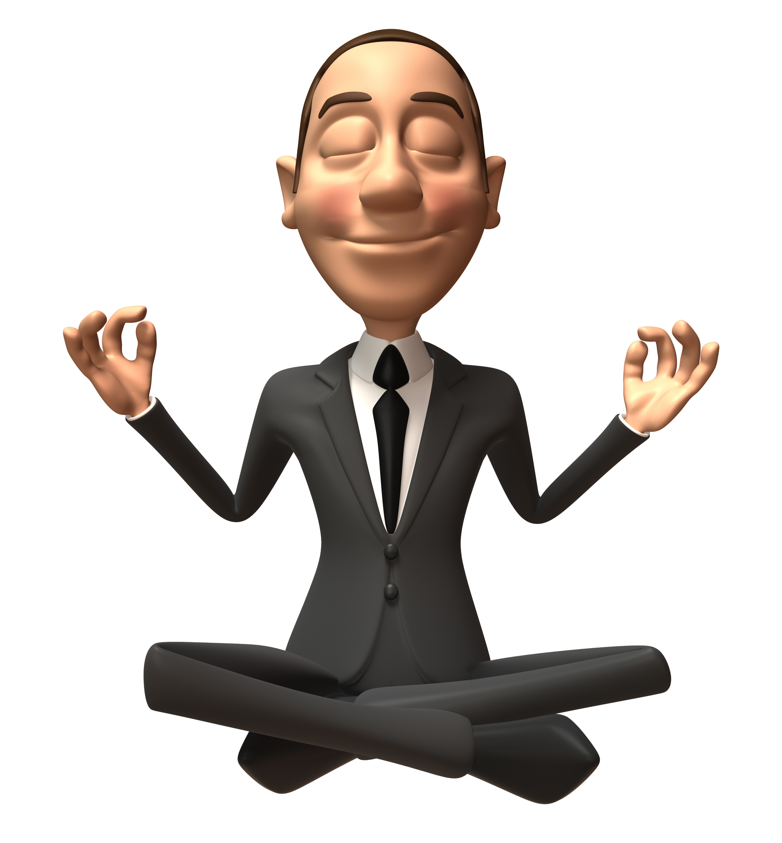 Yoga businessman